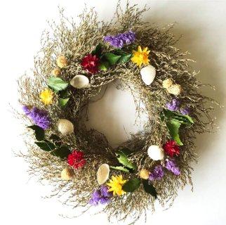 Sea Lavender Wreath (2)