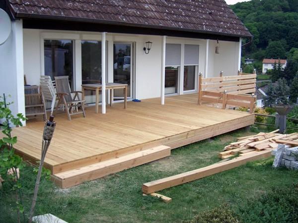 Holzterrasse Welches Holz holzterrasse welches holz hausdesign eine terrasse aus haus
