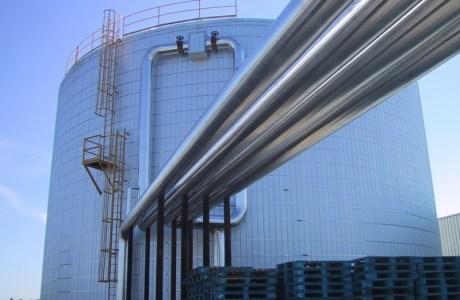 Heat Storage Tank Fabrication