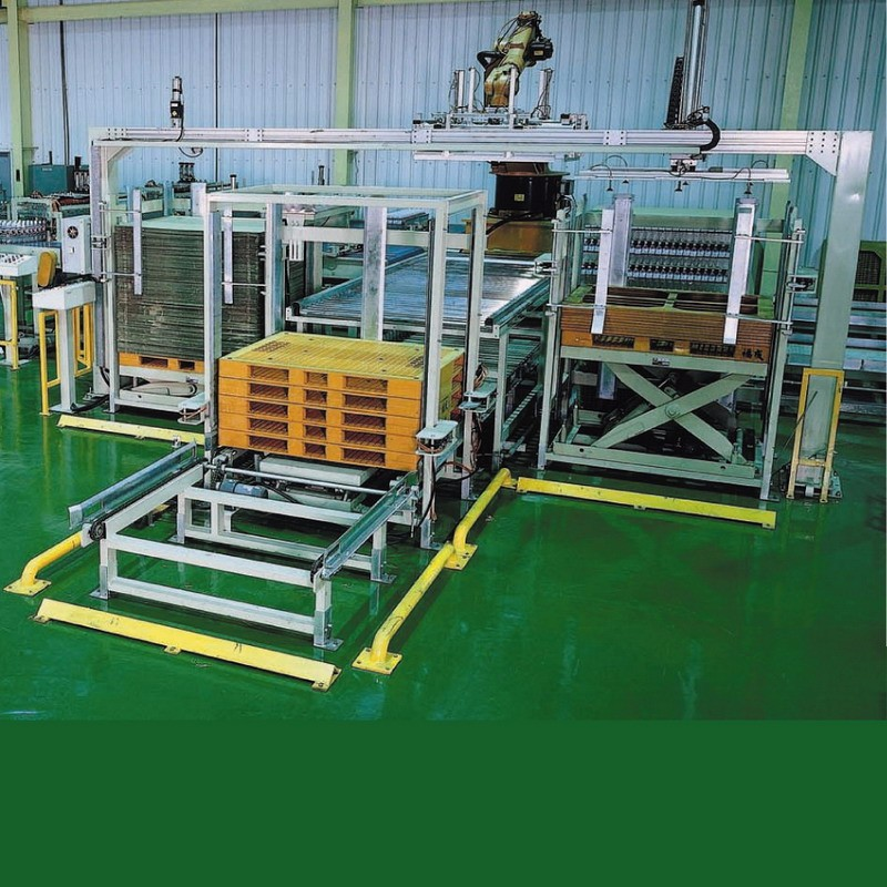 Pallet dispensers machine