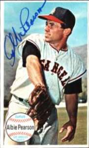 Autographed 1964 Topps Giant Cards