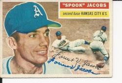 Autographed 1955 Topps Cards