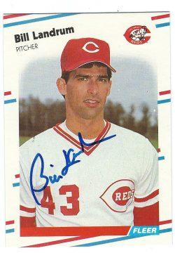 Autographed 1988 Fleer Baseball Cards