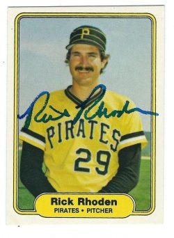 Autographed 1982 Fleer Cards