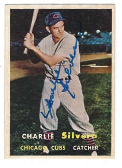 Autographed 1957 Topps Cards
