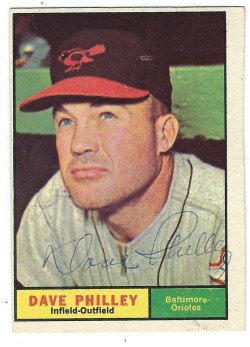 Autographed 1961 Topps Cards