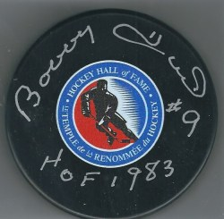 Autographed NHL Hockey Pucks
