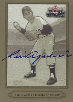 Autographed 2002 Fleer Fall Classic
