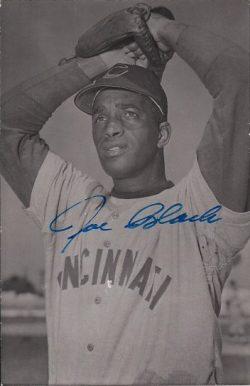 Autographed B&W Postcards - Cincinnati Reds