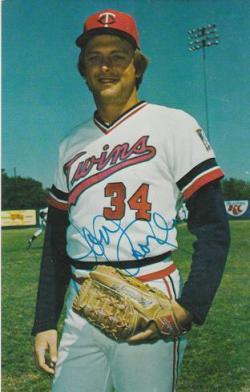 Autographed Minnesota Twins Postcards, etc.