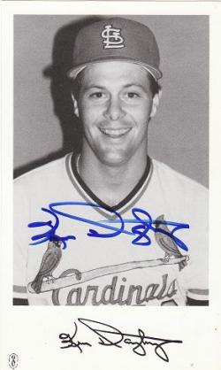 Autographed St. Louis Cardinals Postcards, etc.