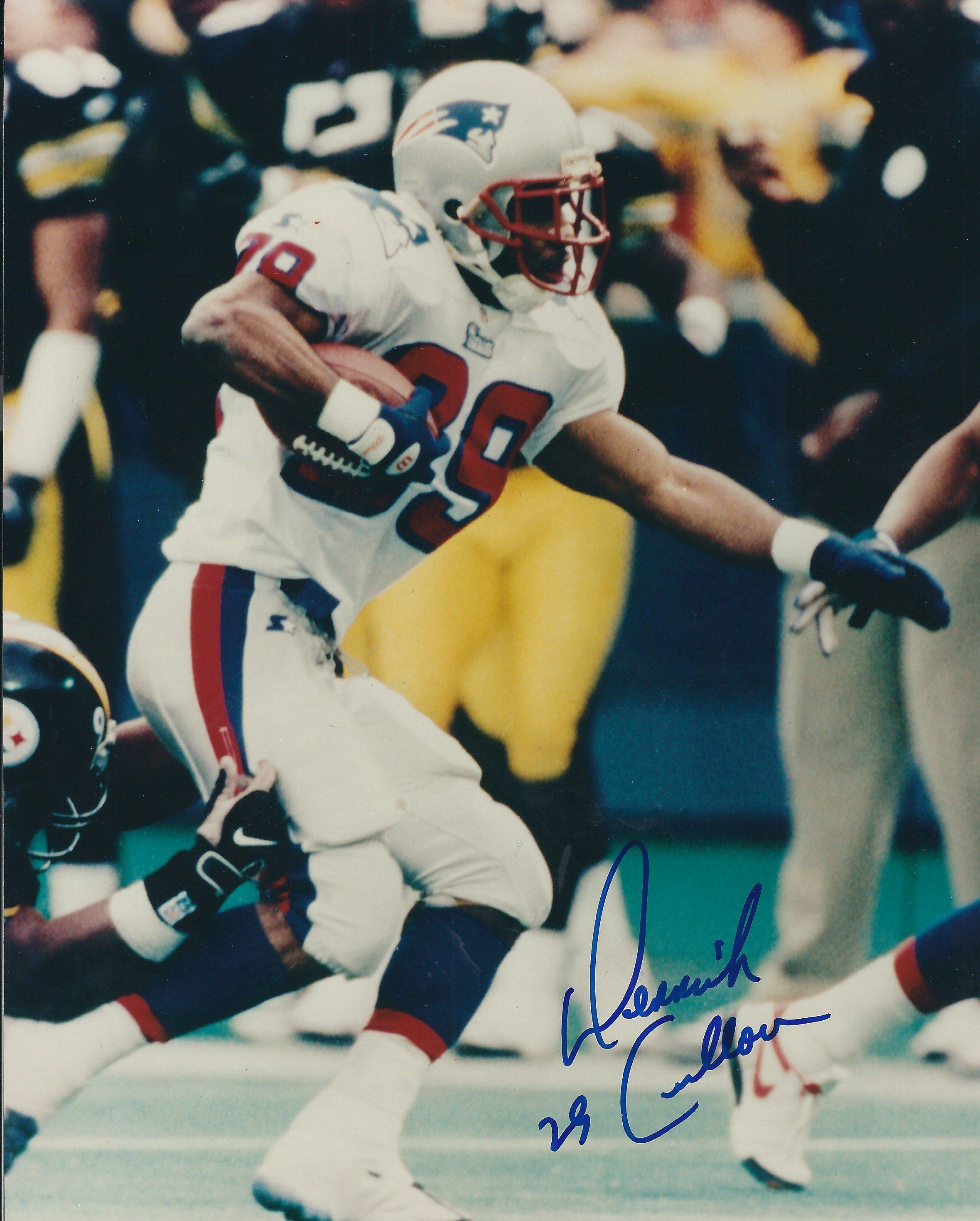 Autographed Julius Adams New England Patriots 8x10 Photo
