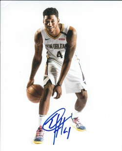 Autographed Pelicans Photos
