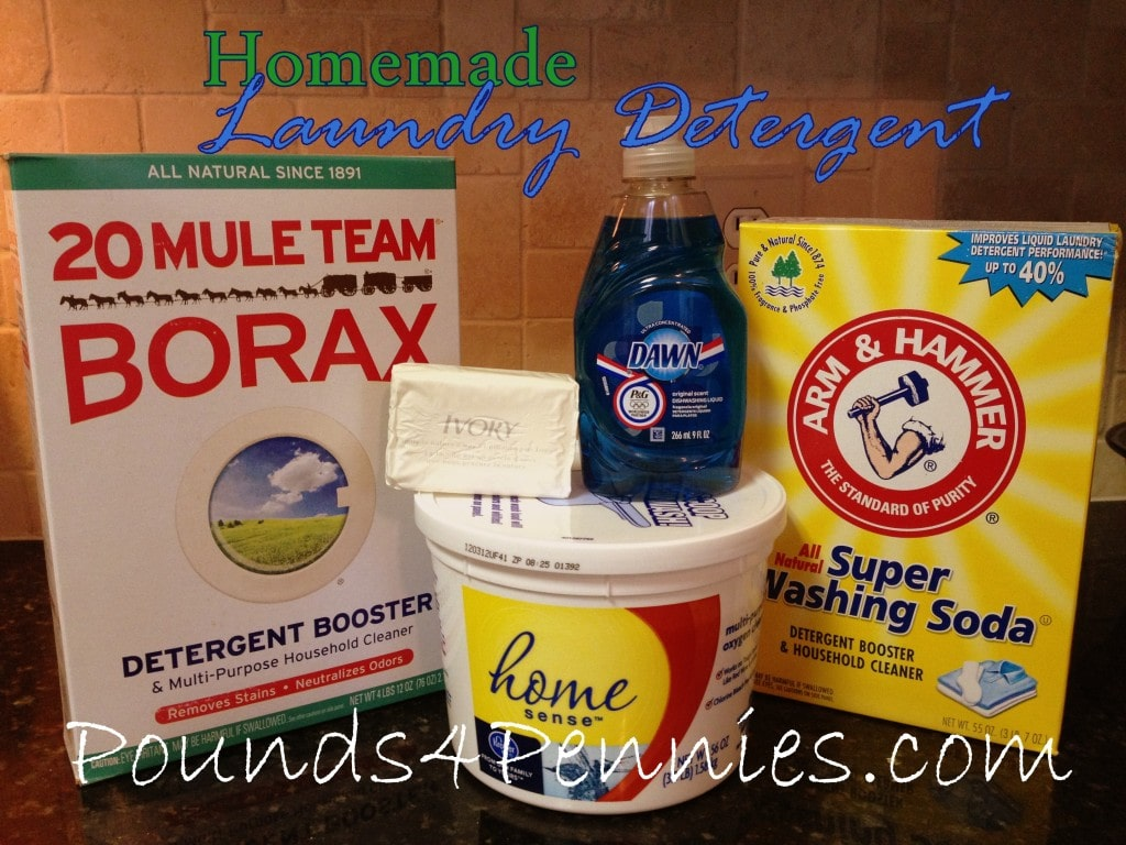 Powerful Homemade Laundry Detergent Recipes