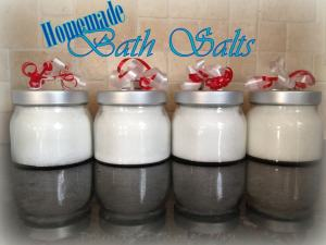 How to Make Bath Salts Using Sea Salt and Epsom Salt