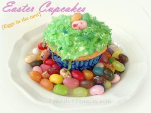 Easy Easter Cupcake Ideas – Easter Egg Nests