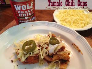 Easy Dinner Ideas – Tamale Chili Cups {Made with Wolf Brand Chili}