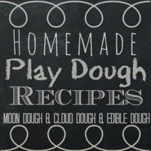Easy Homemade Play Dough Recipes for Kids