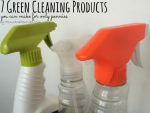 7 Homemade Green Cleaning Products You Can Make For Pennies