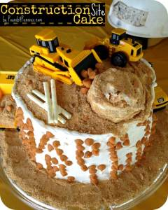 How to Make a Construction Cake for a Construction Birthday