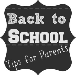 Back to School Tips for Parents { Linky Party }