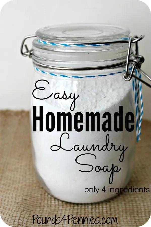 Easy Diy Homemade Laundry Soap