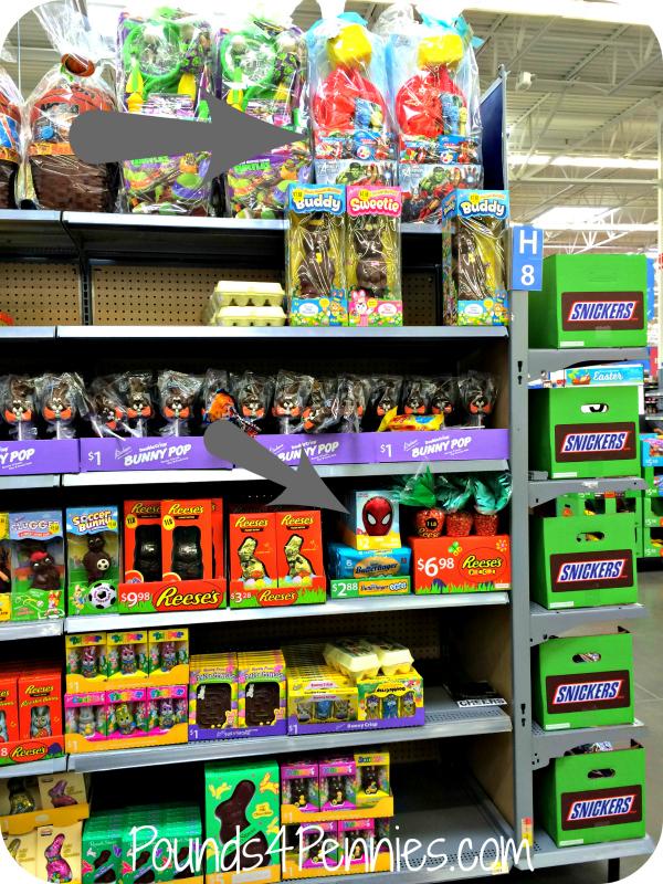 Marvel Easter Shelf Set