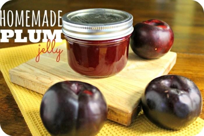 How to Make Homemade Plum Jelly