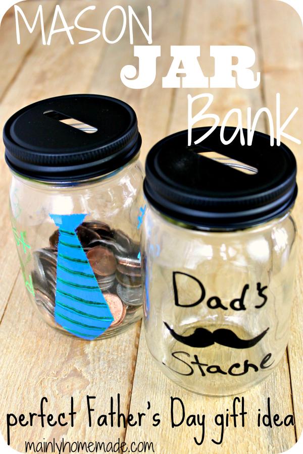 Mason Jar Gift idea for Fathers Day