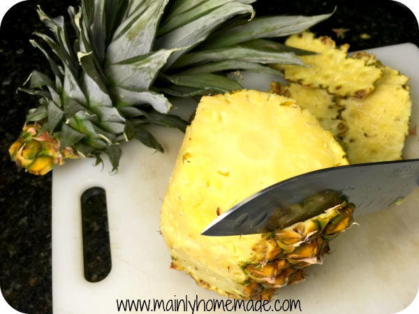 tropical popsicles pineapple