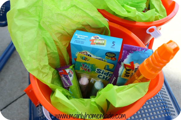 Park Outdoor Party Goodie Buckets