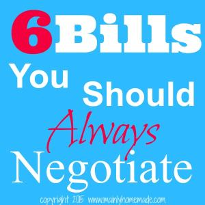 6 Bills you should always negotiate