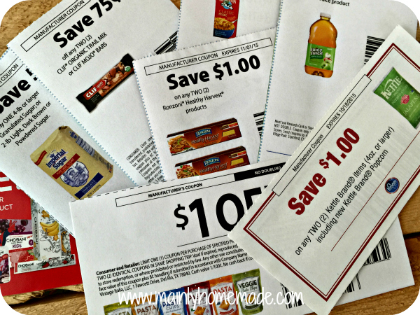 Cut your grocery bill in half with coupons