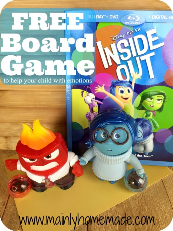 Inside out Game with TOMY Characters