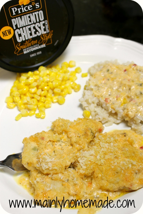 Easy Pimento Cheese Recipes Southern Chicken bake