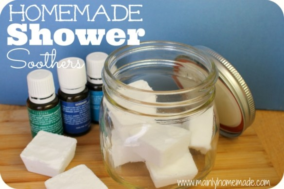Homemade Vapor Shower Soothers Feature