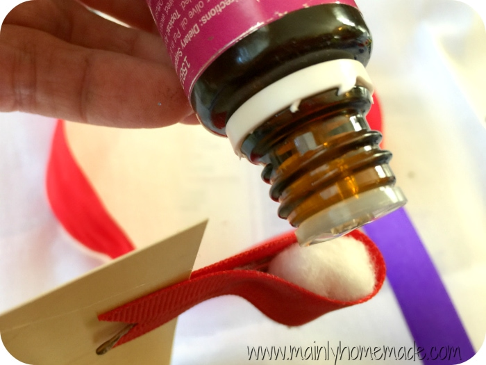 Using essential Oil with homemade car diffuser