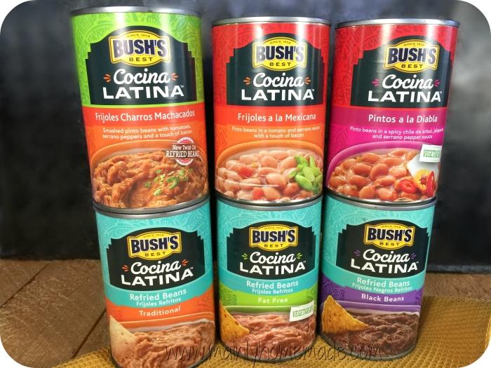 Bushs bean for meatless burrito bowls