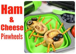 Ham and Cheese Pinwheels lunch idea