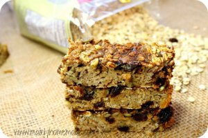 Make Mornings Easier With Nut, Dairy and Gluten Free Oatmeal Bars