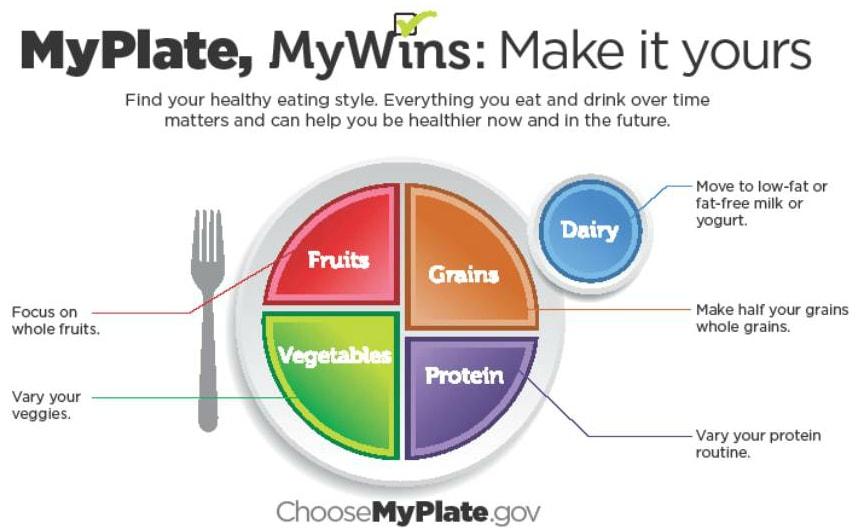 My Plate gov