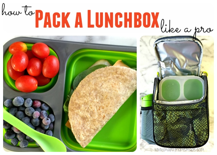 Pack a lunchbox like a pro