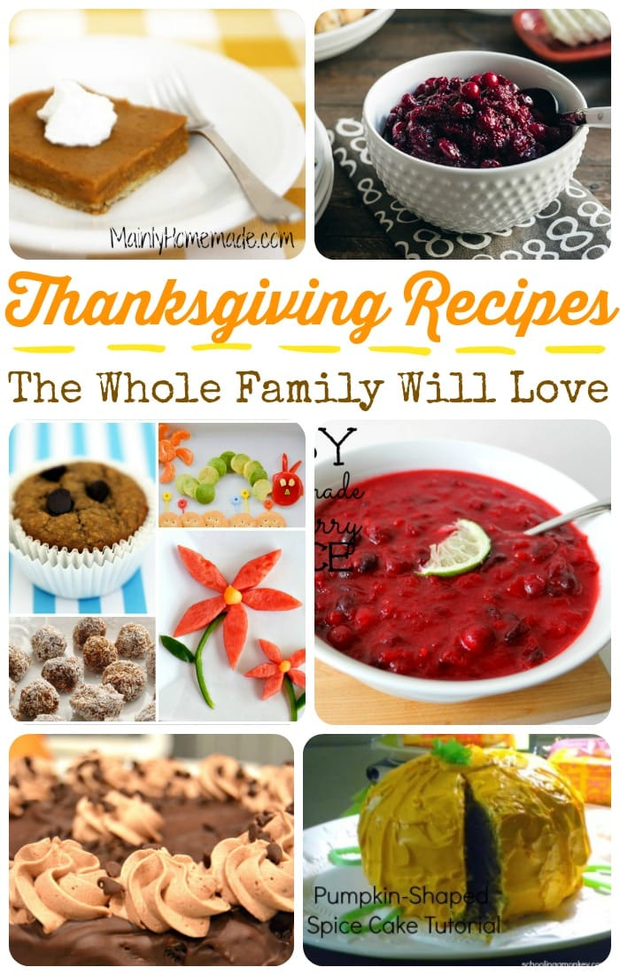 These Thanksgiving snacks and desserts may just become your family's new favorite tradition this year! Try something new, you'll love it!