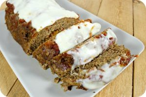 Mozzarella Stuffed Italian Meatloaf Recipe