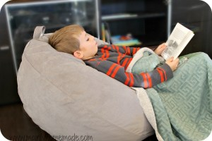 Reading nook to get kids to read more