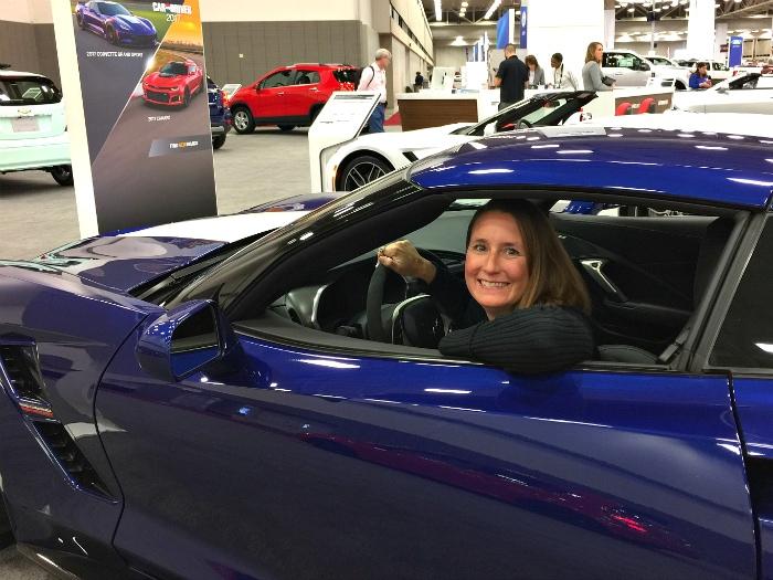 DFW Auto Show In Car