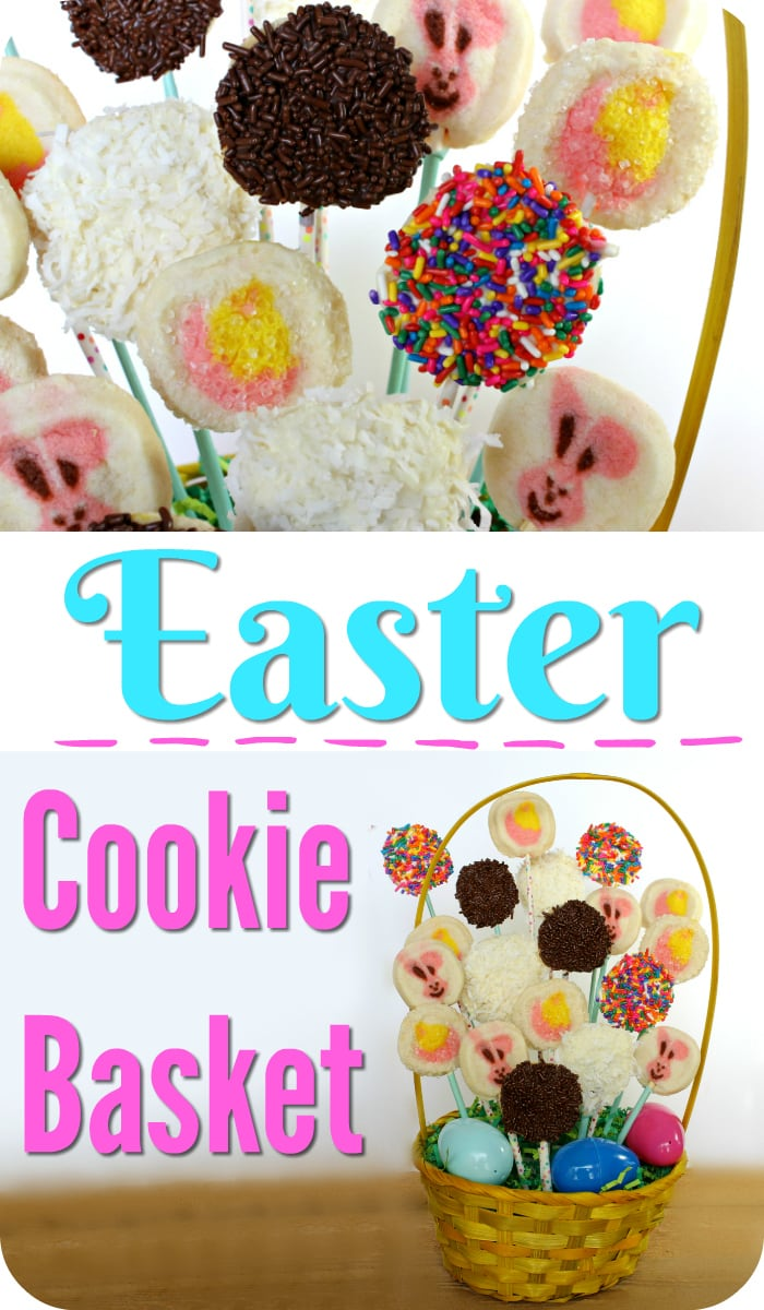 Easter cookie Basket