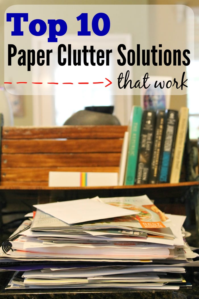 top 10 paper clutter solutions that work