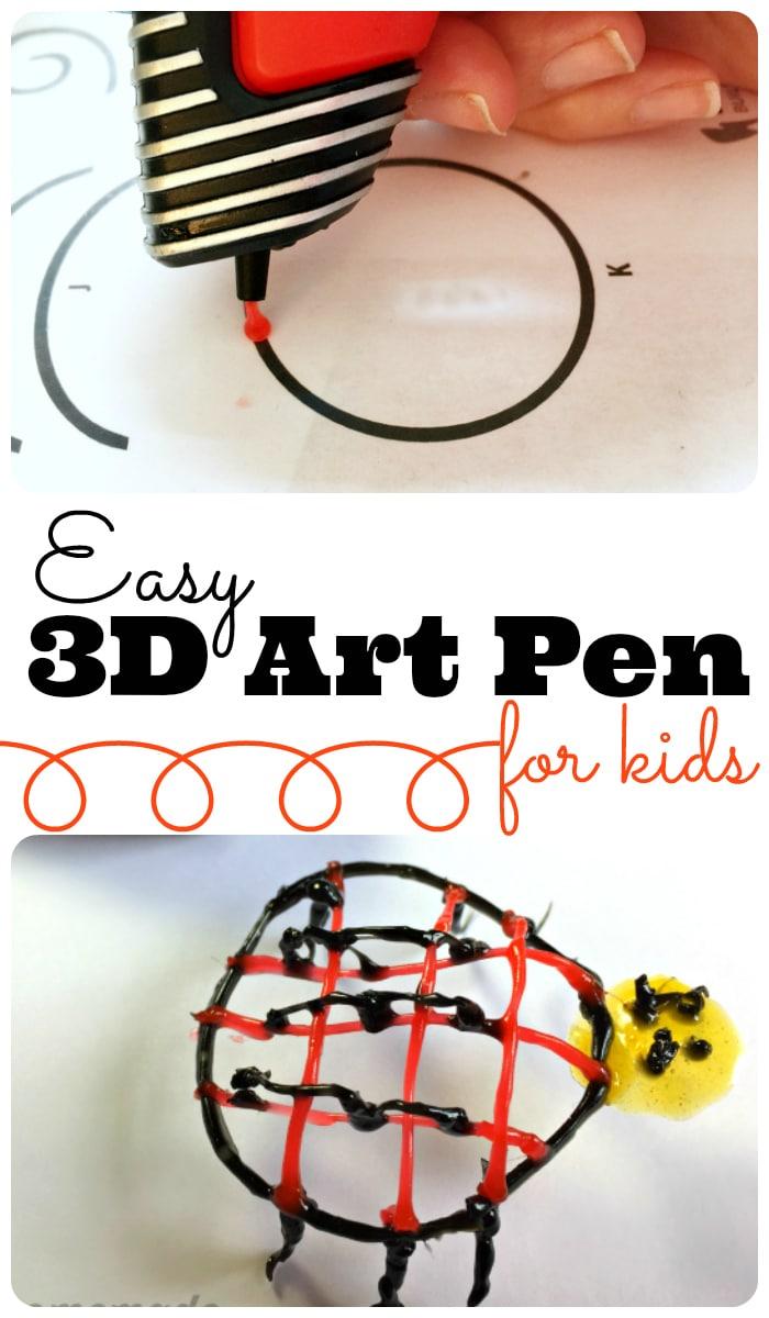 Easy 3D Art pen for kids