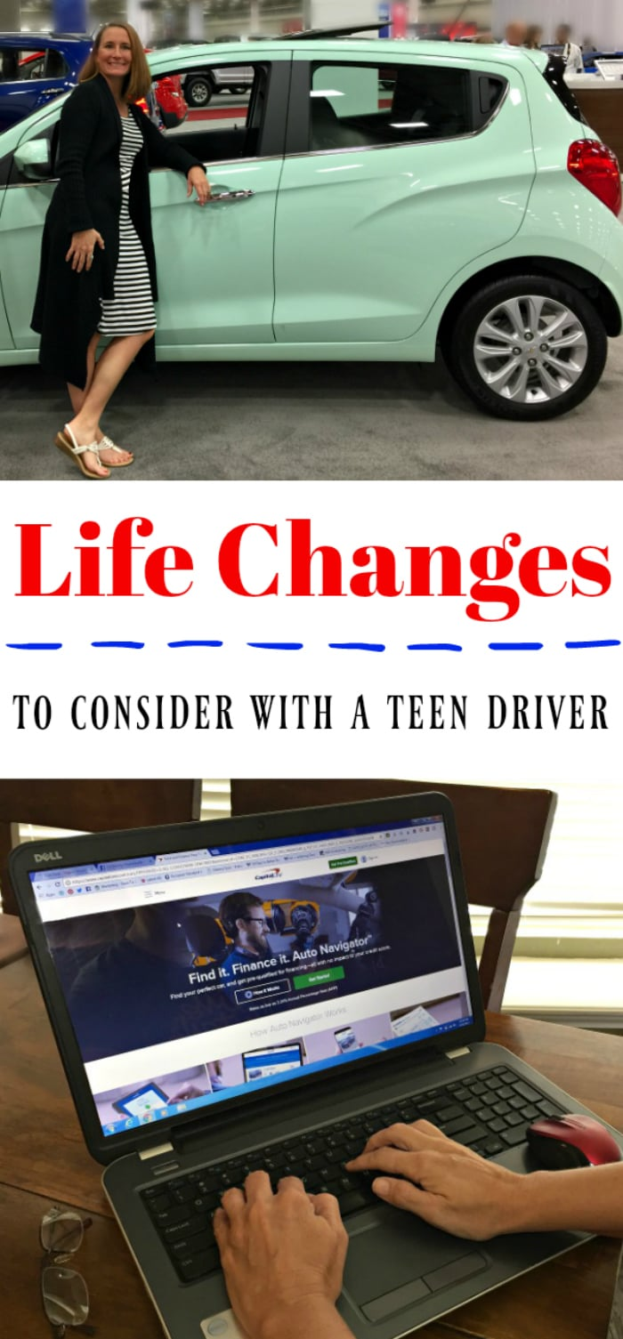 Life Changes with Teen Driver